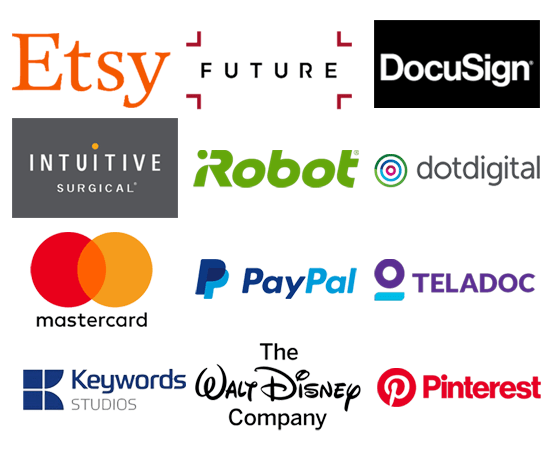 Display of logos of some companies covered in Money Cog Premium