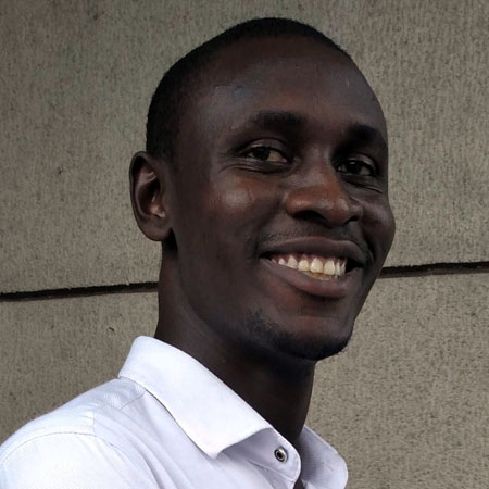 Photo of The Money Cog Team member Prosper Ambaka
